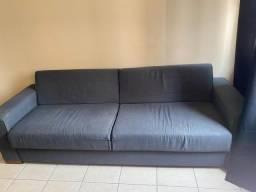 Vende-se sofá cinza azulado