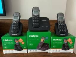Telefone + ramal (2 unidades) - Intelbras