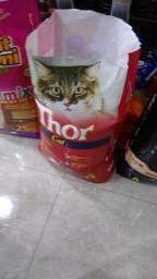Promoção ração Thor cat 10kg