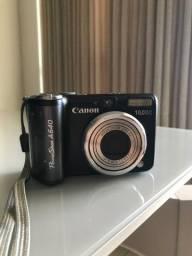 Câmera cânon PowerShot A640 usada