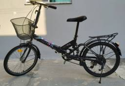Bicicleta dobrável aro 20 - Night Riders