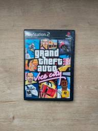 GTA Vice City- PS2 Original (Disco sem arranhões)