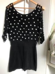 Vestido preto P/M