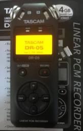 Gravador Digital Tascan DR 05      ***Nunca foi Usado