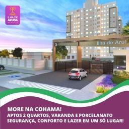 57/ Compre direto com construtora! Ilha de Aruba  - Cohama