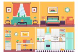 Procura se um apartamento para alugar que seja Mobiliado com a cozinha completa