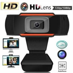 NOVO* Webcam Hd Usb 720p Com Microfone Integrado