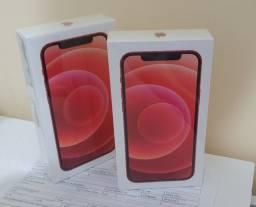 IPhone 12 128GB LACRADO Vermelho NF Garantia 1 Ano!