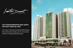 Apartamento com 2 dormitórios à venda, 97 m² por R$ 400.000,00 - Centro - Ponta Grossa/PR