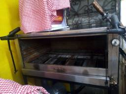 Forno industrial 90x90 ideal para pizzarias