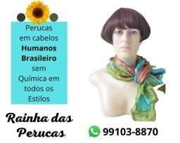 Perucas em Cabelos Humanos Brasileiro feitas à Mão
