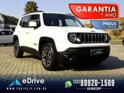 Título do anúncio: Jeep Renegade Longitude 1.8 Flex Aut. - IPVA 2021 PAGO - 1 Ano de Garantia - Nova - 2019