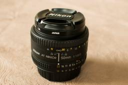 Lente Nikon AF Nikkor 50mm f/1.8D