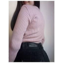 Suéter de Lã Basiquinho