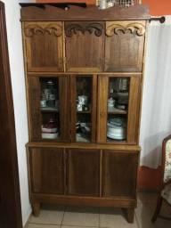 Armário de cozinha madeira maciça