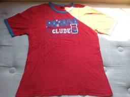 Camiseta Vermelha Paraná Clube
