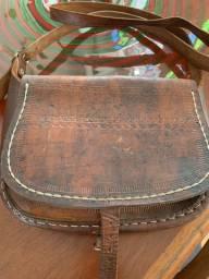 Bolsa pequena de couro