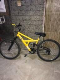 Bicicleta aro 24 9 marchas