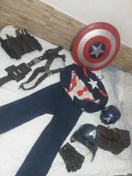 Cosplay capitão América