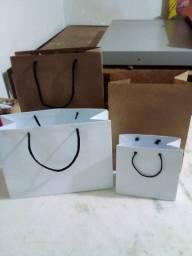Caixa de pizza.sacolas e sacos para delivery