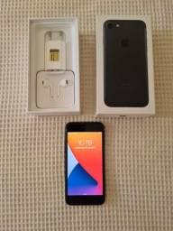 iPhone 7 preto fosco 128 gb