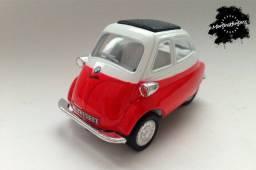 Miniatura BMW Isetta Vermelha 1:38