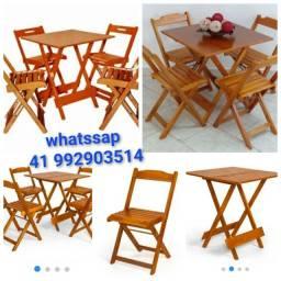 Mesa# mesa# mesa dobrável c cadeira novo # frete grátis