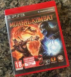 Mortal Kombat PS3 - Aceito Trocas