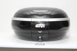 Bau Traseiro Givi Maxia De 52 Lts C/ Encosto Original Givi