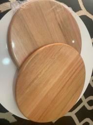 Tábua de madeira 35cm nova