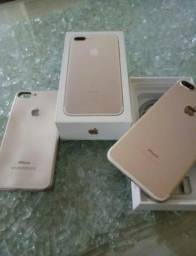 (1) iPhone 7 plus Rose 256gb