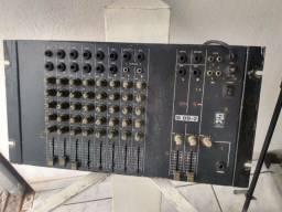 Mesa de som Staner de 8 canais toda revisada