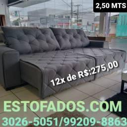 Sofá linha luxo a pronta entrega! >> (12X de R$:275,00)
