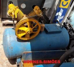 Compressor de 15 pés, 230 Litros, da Schulz! Falta motor e Reparo! Barato!
