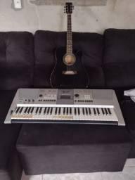 Vende-se teclado e violão