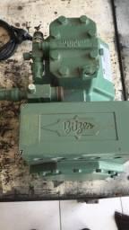 Vendo motor compressor bitzer - para câmara frigorifica de frios