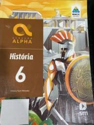 Livro História  Geração Alpha 6 ano
