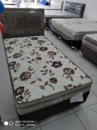 Promoçao cama box + colchao solteiro 88x188 mega resistente: 999,99