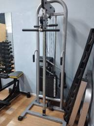 Multi exercitador Mono Cross over Nakagym 70 kg com puxadores