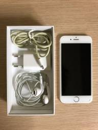 iPhone 6 64G seminovo gold