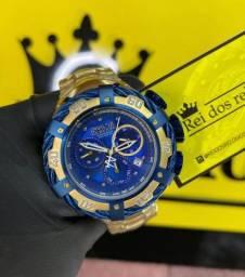Título do anúncio: Relógio invicta thunderbolt azul lacrado novo