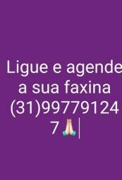 Faxineira profissional