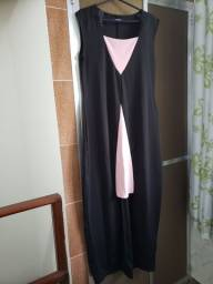 Aproveitem promoção  vestido lindo preto com rosa
