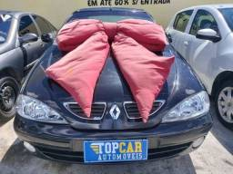 Megane Preta 2.0 Sedan 2005 Lindissima (S/ Entrada R$: 599,90) Top Car Aprova Fácil
