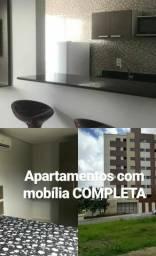 Apartamentos com mobília completa próximo ao shopping PARTAGE