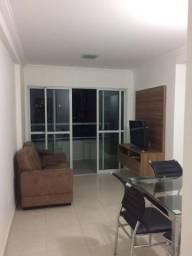 Beira mar 2 quartos mobiliado e lazer completo