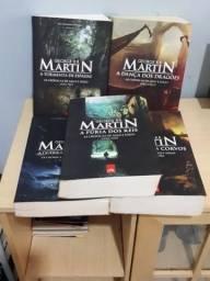 Livros (05) Crônicas de Gelo e Fogo (Guerra dos Tronos/Game of Thrones)