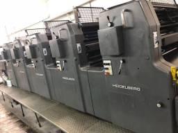 Vendo Máquina Grafica HEIDELBERG MO 5 cores