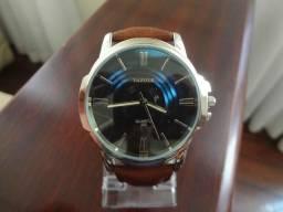 3d9241a00fe Relógio Yazole Couro Grande à Prova D água 100% Novo e Original