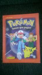 Album Pokemon Temos que Pegar! Completo com poster